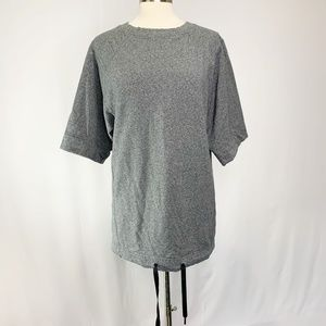 Lululemon Womens Charcoal Gray Pullover Top Size L